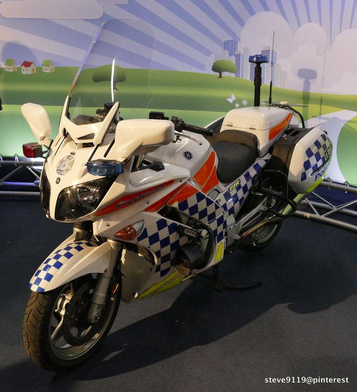 Yamaha FJR Police bike @ Royal Agricultural Show. Perth, Western Australia