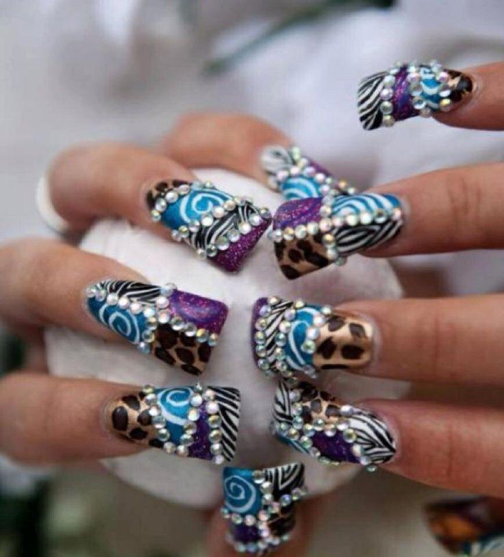 49 mejores imágenes de Uñas decoradas Top Nails en Pinterest | Uña ...
