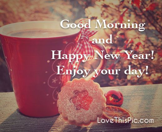Enjoy your day new years good morning new year happy new year new years quotes n...