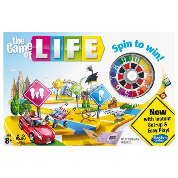 Buy The Game of Life Classic Board Game from Hasbro Gaming at Argos.co.uk - Your Online Shop for Games and board games, Games and puzzles, Toys.