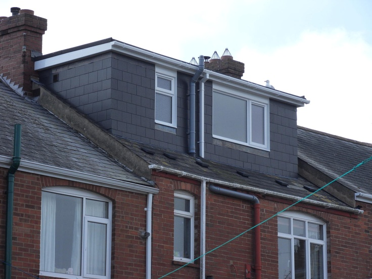 Flat roof dormer by attic designs ltd dormers flat roof for Different types of dormers