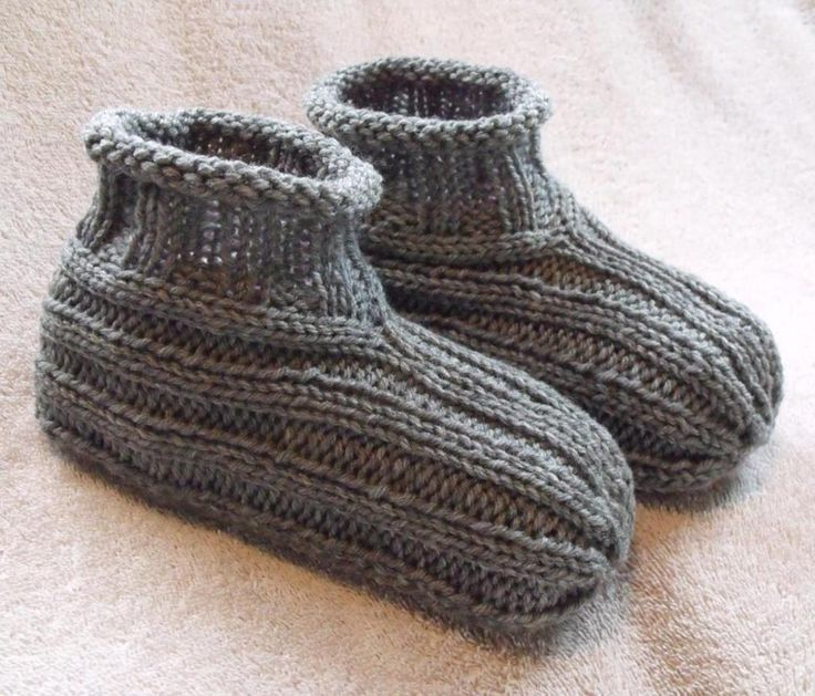 Adult Bootie Slippers | Craftsy