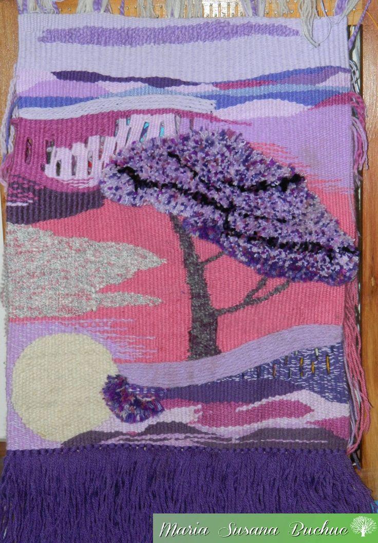 Textil Art / Tapiz Artesanal en Técnica Alto Liso por María S. Buchuc