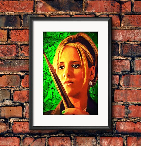 Check out this item in my Etsy shop https://www.etsy.com/ca/listing/536236080/buffy-the-vampire-slayer-buffy-summers