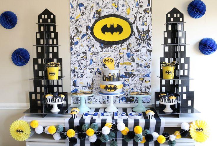 epic batman birthday party