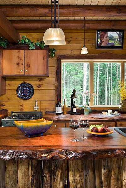 Natural Wood Countertops House Home