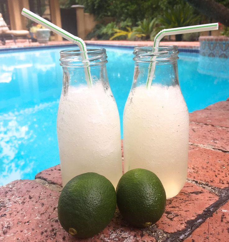 Try this Skinny Margarita recipe with Patrón Silver, lemon, tonic water, lime and Truvia. | #patron #tequila