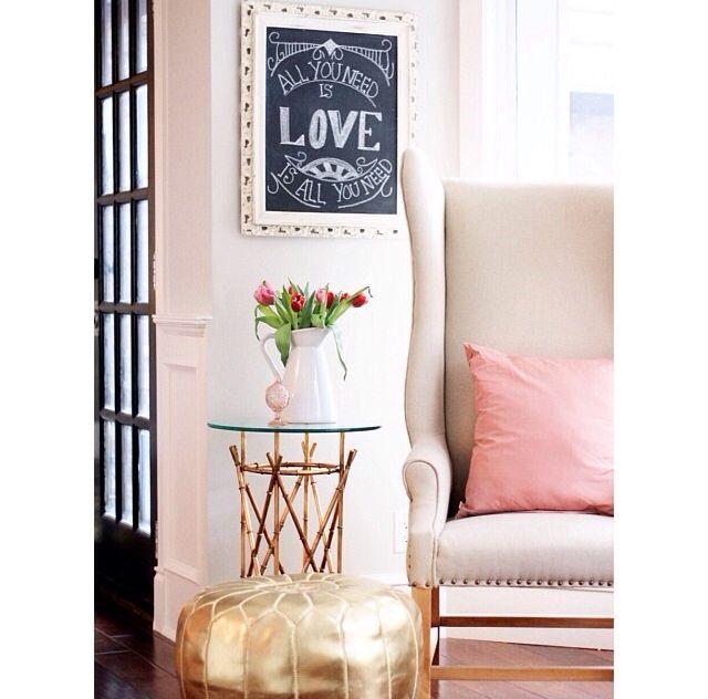 Gold Pouf Jillian Harris Poufs For The Home Decor Ideas Interior Design Pretty Sweet