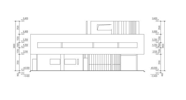 The 25 best ideas about villa savoye plan on pinterest for Villa plan dwg