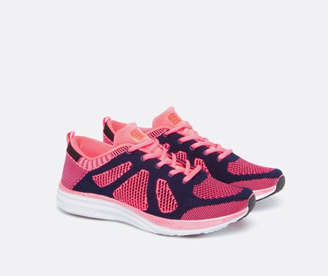 Knit effect Oysho sneakers - OYSHO
