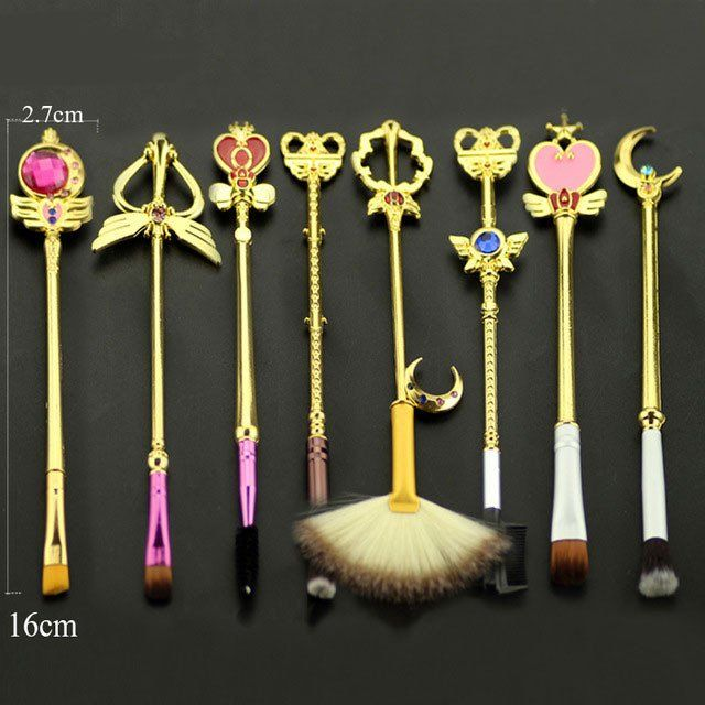 Sailor Moon Makeup Brush Set - FREE SHIPPING!