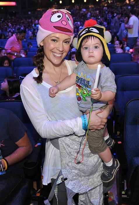 Alyssa Milano's adorable son, Milo Thomas Bugliari