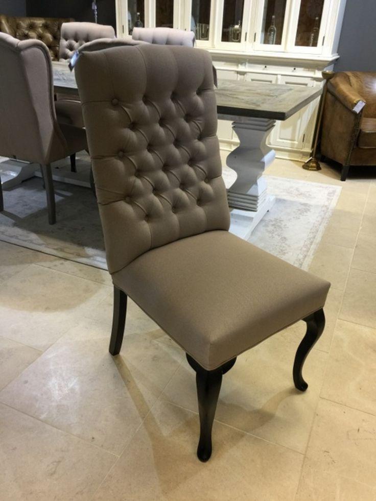 Stuhl  gepolstert mit Ring, Stuhl  chesterfield