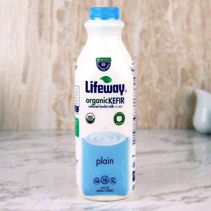 Lifeway Organic Kefir Lowfat Plain 32 oz