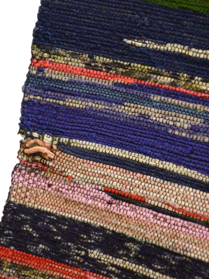 Sri | A Beautifully Multi-Colored Sakiori Obi: Ragweave