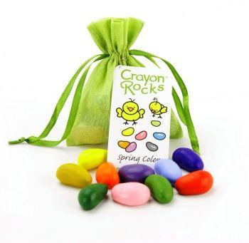 Kredki Crayon Rocks SPRING bag - 10 wiosennych kolorów