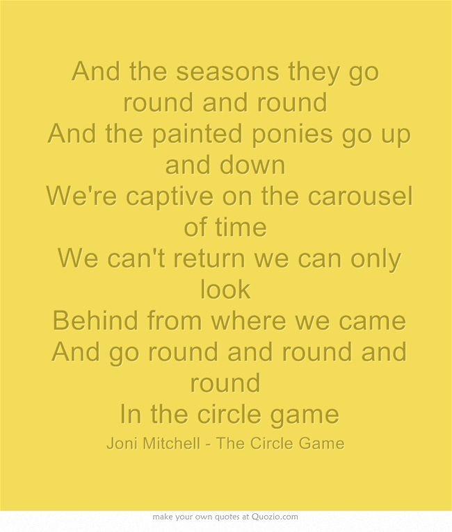Tom Rush – Circle Game Lyrics | Genius Lyrics