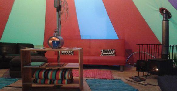 Glamping Lounge