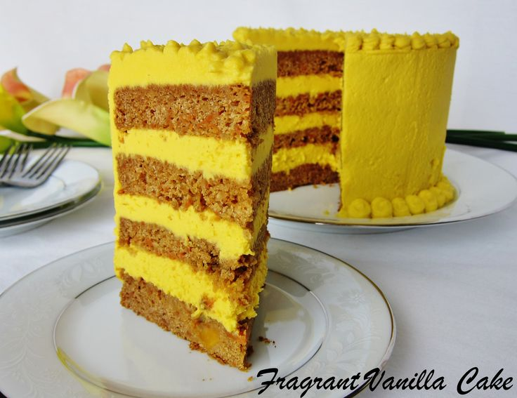 Carrot And Mango Cake