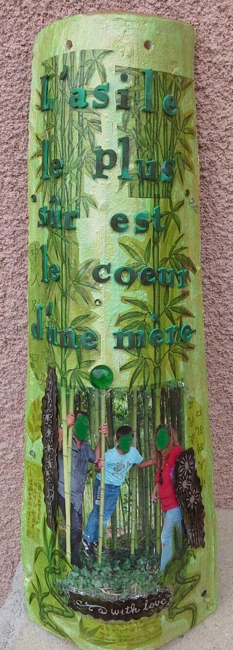 Tuile personnalisée décorée aux thèmes et couleurs voulus : Décorations murales par lescreadekris