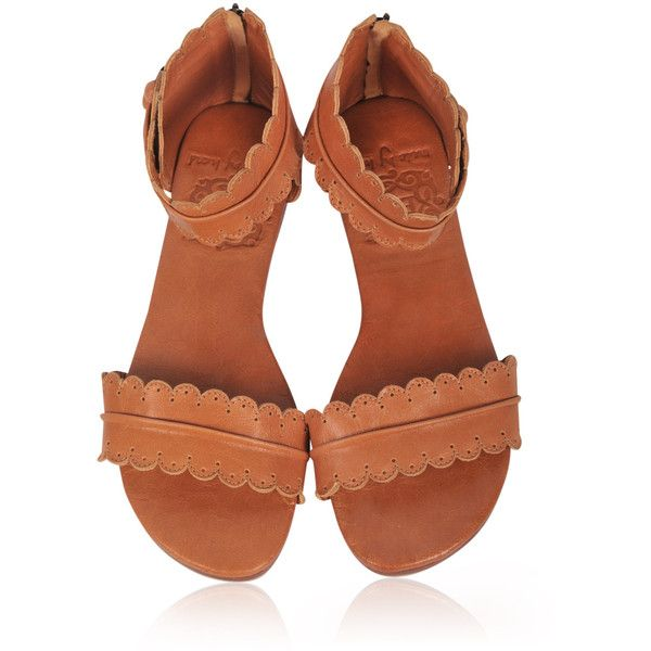 Midsummer Leather Sandals Women Shoes Leather Shoes Flat Shoes Tan... ($110) ❤ liked on Polyvore featuring shoes, sandals, barefoot sandals, black, women's shoes, tan flats, vintage sandals, tan leather sandals, summer sandals and black ankle strap flats