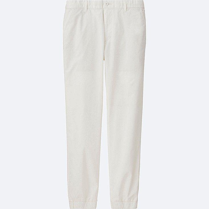 MEN JOGGER PANTS (COTTON), WHITE