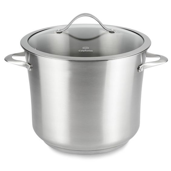 Calphalon Contemporary Stainless Steel 12 Quart Stockpot ** Insider's special review you can't miss. Read more  : All Pans for Cooking