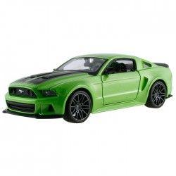 Maisto 2014 Ford Mustang Street Racer 1:24 Model Araba S/E Yeşil
