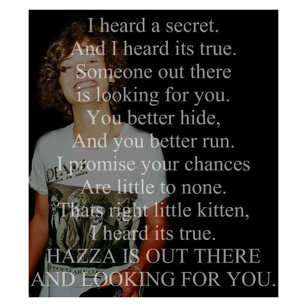 one direction poems ❤ liked on Polyvore