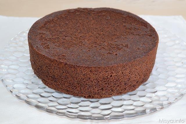 Sponge cake al cioccolato, scopri la ricetta: http://www.misya.info/2014/08/29/sponge-cake-al-cioccolato.htm