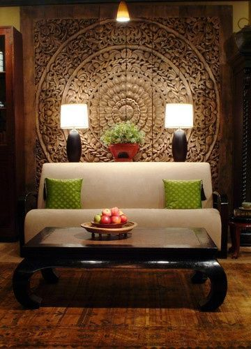 Thai Inspired Modern Design Asian Living Room Chicago By The Golden Tria Asian Home Decorhome