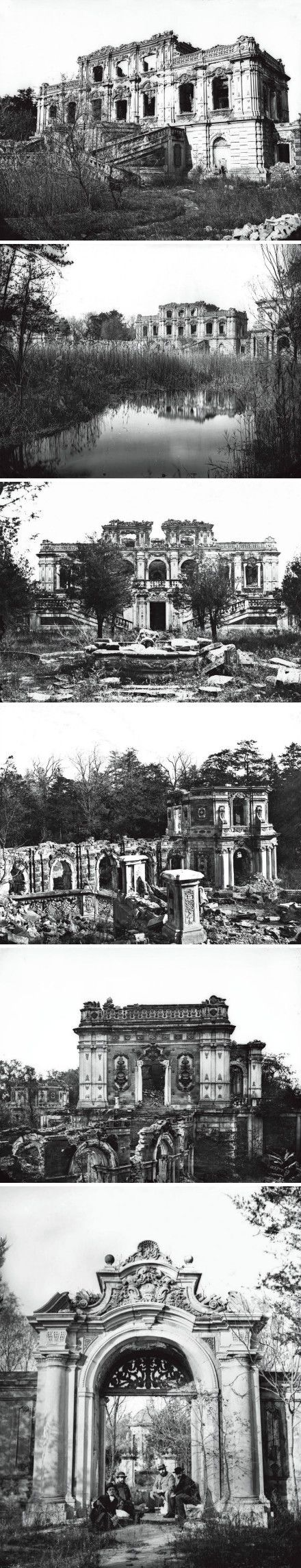 Black and white impression: Old Summer Palace. (Actually the final ruin by ourself ) .