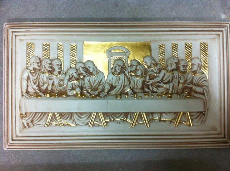 Cenacolo 12 apostoli oro foglia 2