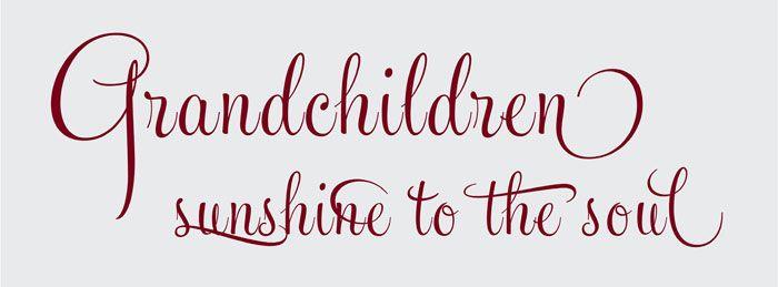 GRANDCHILDREN ...Sunshine to the soul !  (for all the pinning grandparents :)