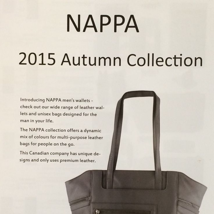 New Fall catalogue is now available from #NappaDesigns!  Contact ClementSales2@gmail.com for wholesale opportunities. #yeg #yyc #yqr #yxe