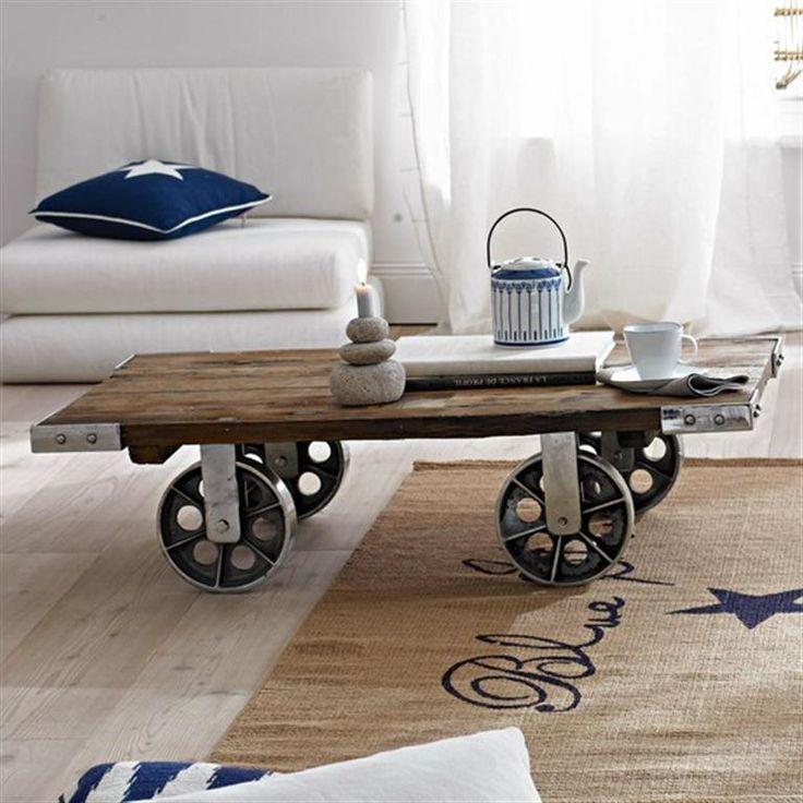 13 ideas para combinar hierro y madera - Forja Hispalense