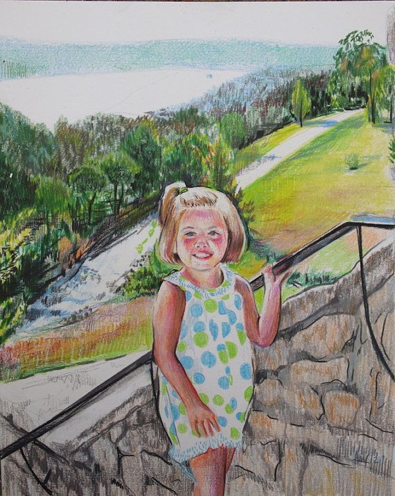 Annie Flynn. Custom Children's Portrait