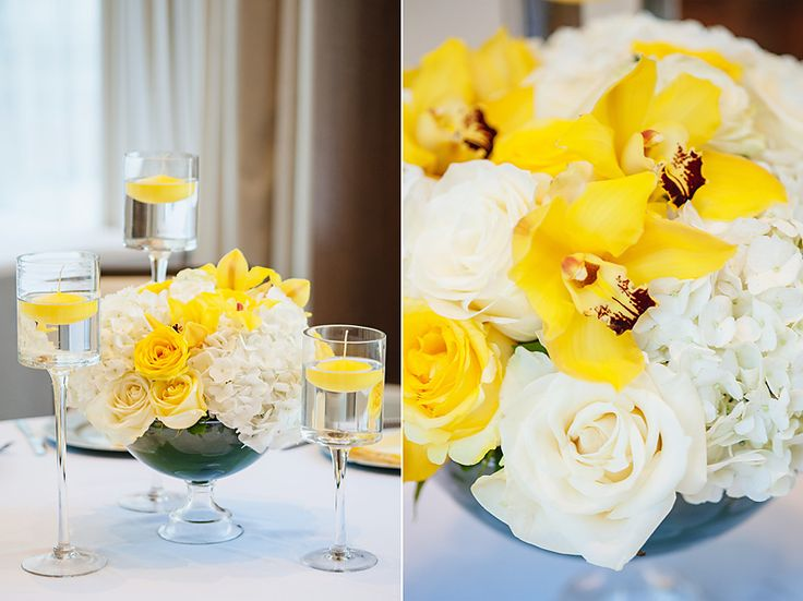Elegant Yellow & White Gender Neutral Godh Bharai / Baby Shower Mad Hearts Photography