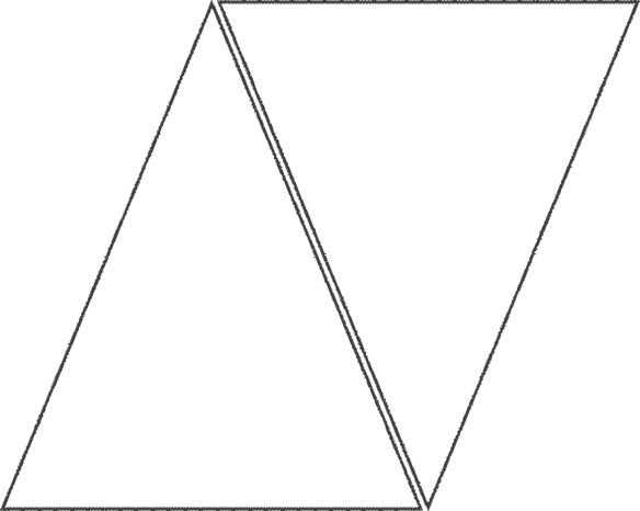 triangle template | QUILTS ~ TEMPLATES | Pinterest