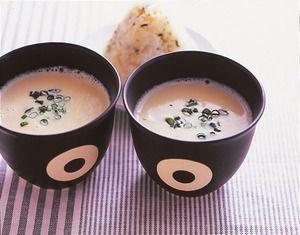 豆腐の豆乳ポタージュ