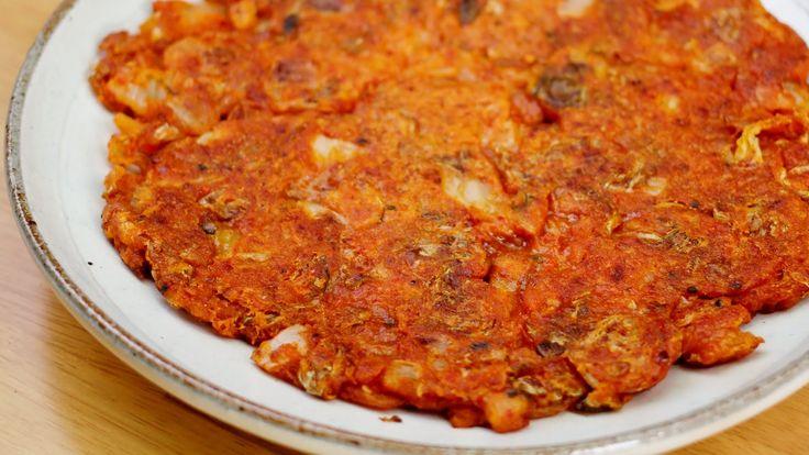 백종원 김치전 만들기♥바삭바삭 아주 맛있어욤~ Kimchijeon, Kimchi Pancake Recipe