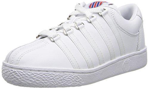 cool K-Swiss 501 Classic Tennis Shoe (Little Kid)