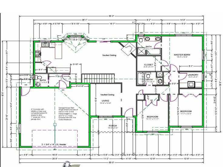line drawings house plans design a house layout free - Drawing House Plans
