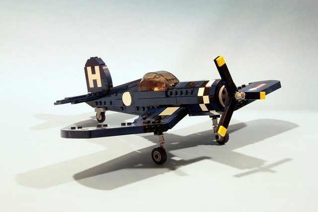 /by psiaki #flickr #LEGO #plane #Corsair
