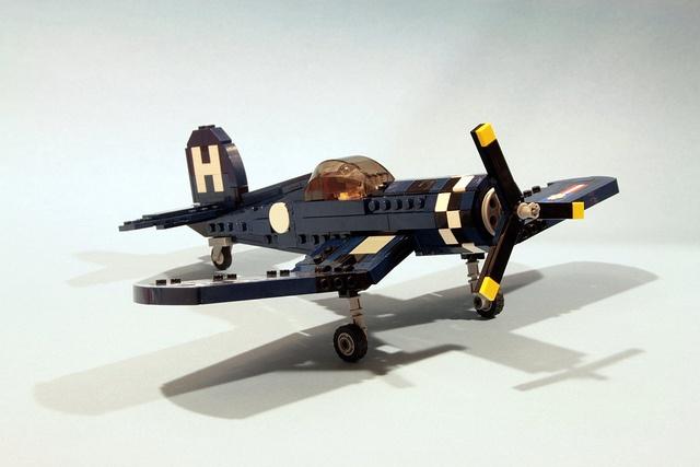 /by psiaki #flickr #LEGO #plane #Corsair
