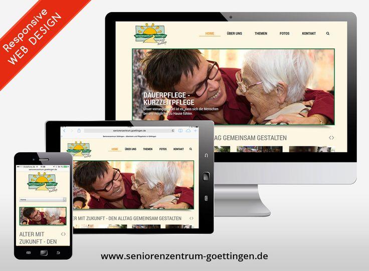 #Webseiten #erstellen mit einem Ziel - #Seniorenzentrum.goettingen.de