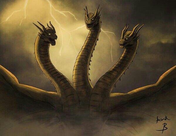 King Ghidorah All Godzilla Monsters Kaiju Monsters Godzilla Wallpaper