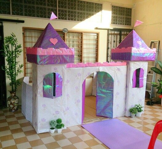 Sofia the first castle birthday party