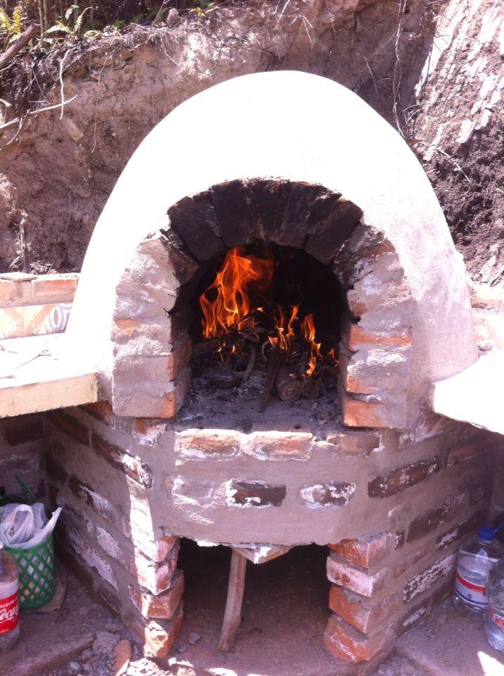 M s de 1000 ideas sobre hornos de ladrillo en pinterest - Horno de piedra casero ...