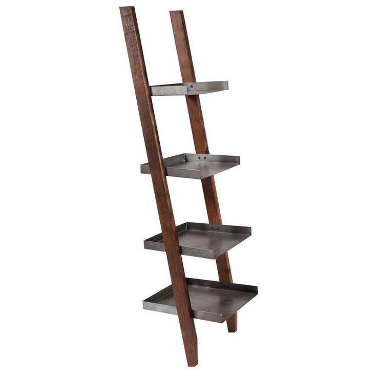 Las 25 mejores ideas sobre estantes escalera en pinterest for Escaleras de madera sencillas